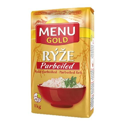 Ryža dlhozrnná PARBOILED 1kg 1