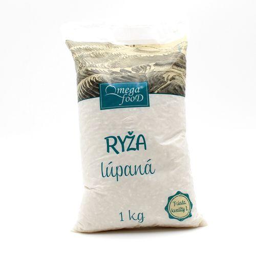 Ryža guľatozrnná OMEGA 1kg 1