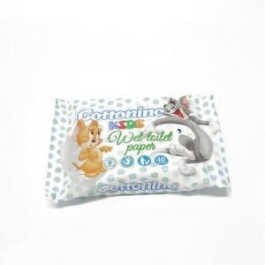 Toaletný papier vlhčený Cottonio Kids 40ks 6
