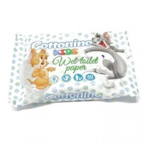 Cottonio Kids, toaletný papier vlhčený 40 ks 3