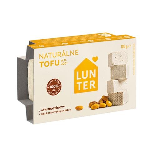 Tofu naturálne LUNTER 180g 1