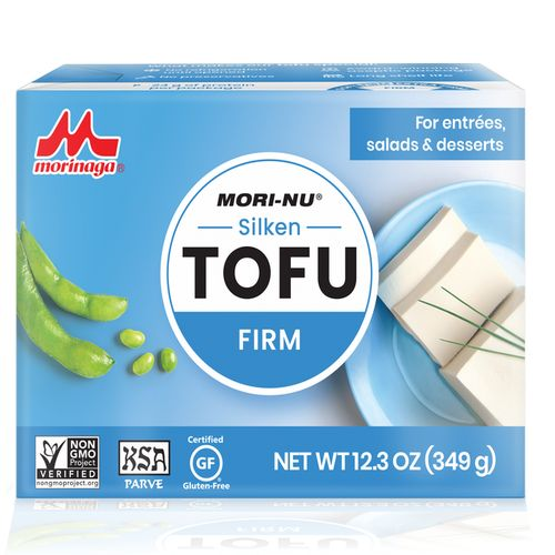 Tofu strieborné JEMNÉ MORINAGA 380g 1