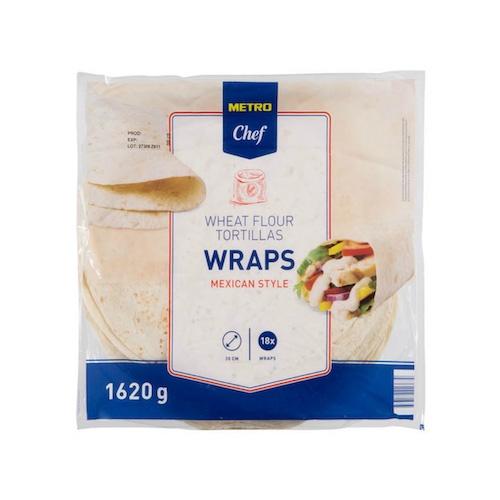 Tortilla wrap 18ks / 30cm 1