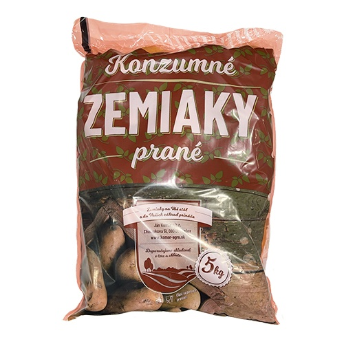Zemiaky konzumné prané 5kg IGELIT 1