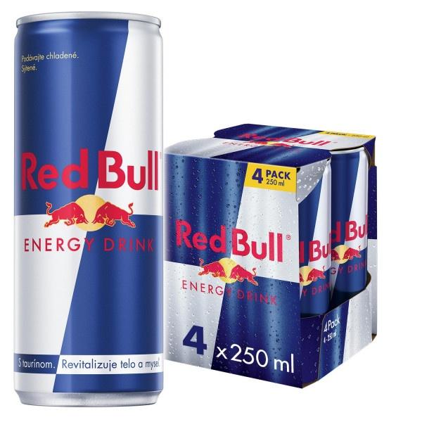 RED BULL energy drink 250ml plech 2