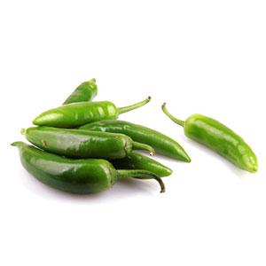 Paprika - chili papričky Jala penos zelené ,I.Tr 1