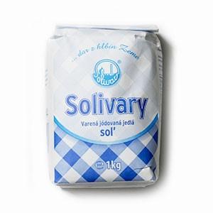 Soľ jedlá SOLIVARY 1kg 2