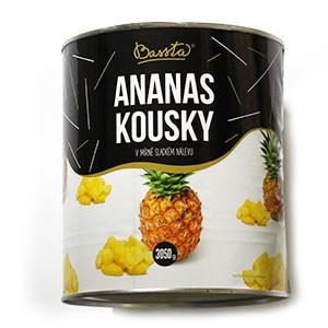 Kompót ananás krájaný BASSTA 3100ml 2