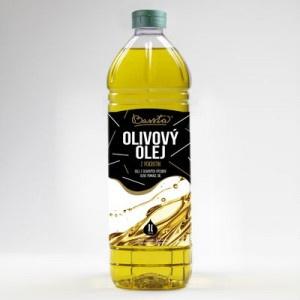 Olej olivový BASSTA 1l 11