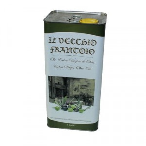 Olej olivový extra vergine IL VECCHIO 5L plech 4