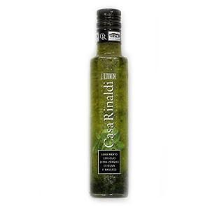 Olej olivový Bazalkový CASA RINALDI 250ml sklo 5