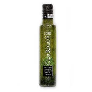 Olej olivový Bazalkový CASA RINALDI 250ml sklo 1