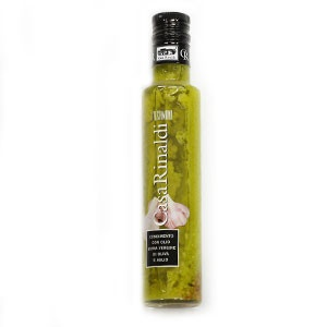 Olej olivový Cesnakový CASA RINALDI 250ml sklo 7