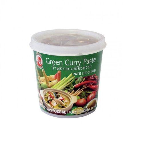 Curry pasta zelená COCK BRAND 400g 1