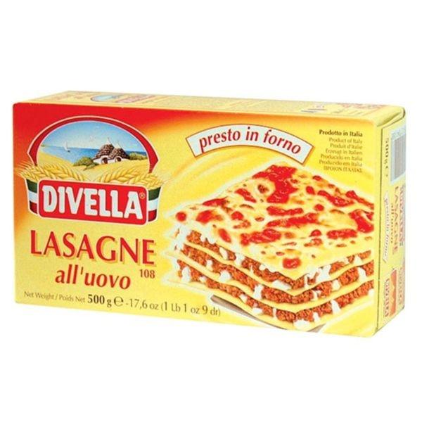 Cestoviny DIVELLA Lasagne 500g 1