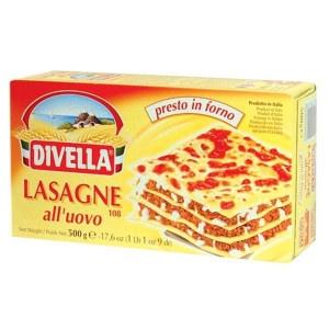 Cestoviny DIVELLA Lasagne 500g 7