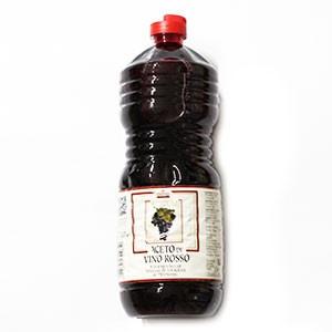 Ocot vínny červený VARVELLO 1l plast 8