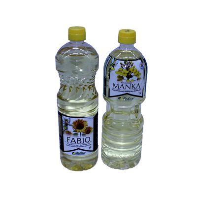 Olej rastlinný (repkový) MANKA 1l 1