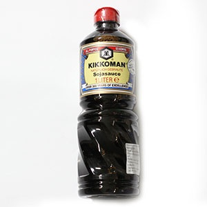 Omáčka Sójová KIKKOMAN 1l 3
