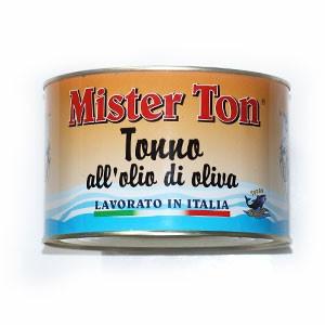 Tuniak v olivovom oleji MISTER TON 1650g plech 3