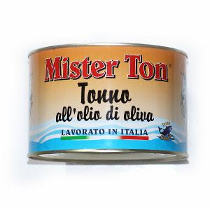Tuniak v olivovom oleji MISTER TON 1650g plech 1
