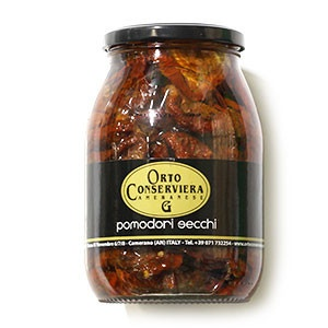 Paradajky sušené v oleji ORTO CONSERVIE. 900g sklo 2