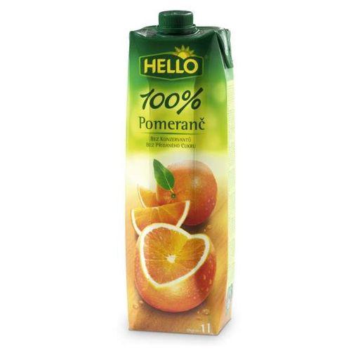 Džús pomaranč 100 % 1l H 1