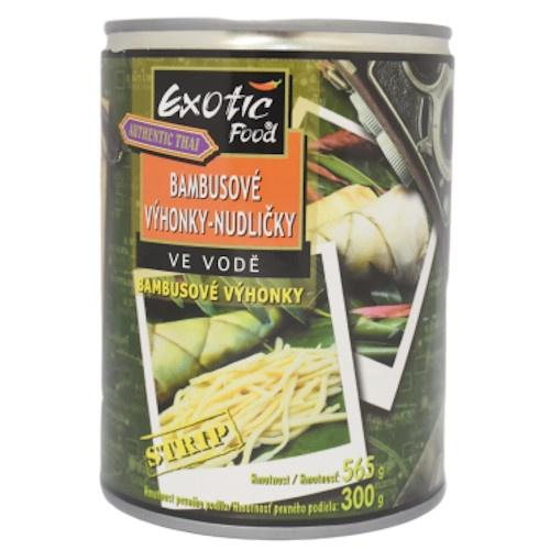 Bambusove výhonky nudličky 565g 1