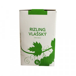 Víno biele box RIZLING VLAŠSKÝ - VÍNO LEVICE 5l 3
