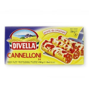 Cestoviny DIVELLA  Cannelloni 250g 2