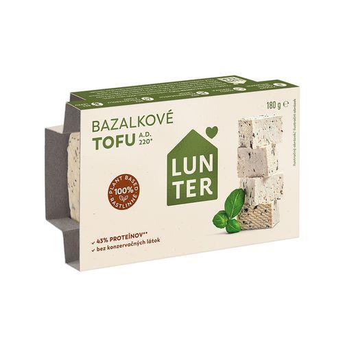 Tofu bazalkové LUNTER 180g 1
