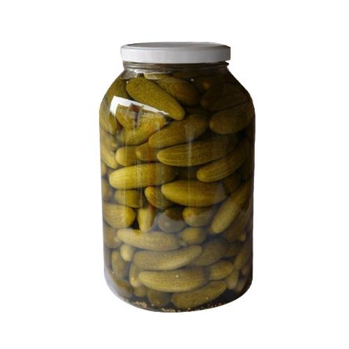 Uhorky sterilizované 6-9cm ADY 3720ml 1