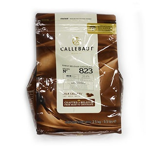 Čokoláda mliečna 33,6% CALLEBAUT 2,5kg 4