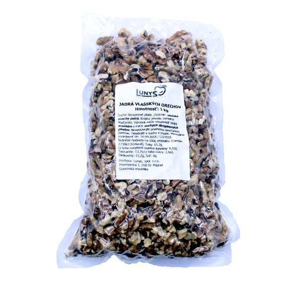 Vlašské orechy lúpané LUNYS 1kg 1
