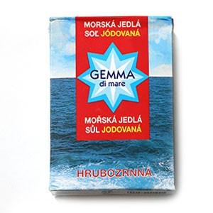 Soľ morská HRUBOZRNNÁ GEMA DI MARE 1kg 5