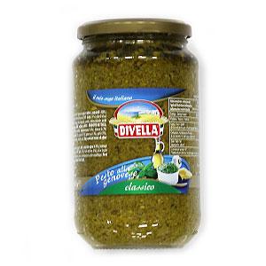 Pesto bazalkové DIVELLA 550g sklo 1