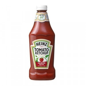 Kečup jemný HEINZ 1500g plast 4