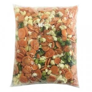 Mrazená zeleninová zmes bretánska VIK. FROST 2,5kg 6