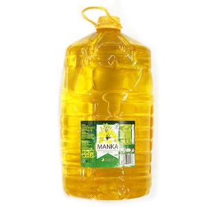 Olej repkový MANKA 10l 1