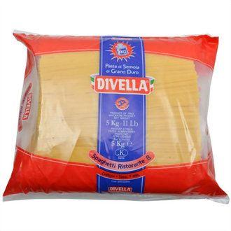 Cestoviny DIVELLA Špagety 5kg 1