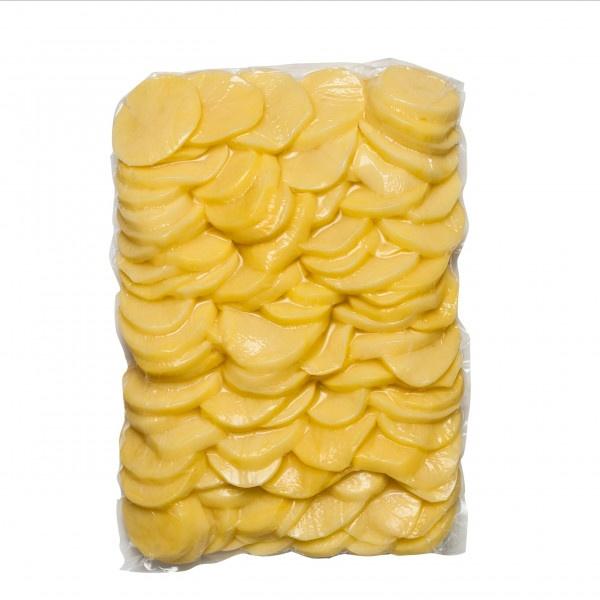 Zemiak čistený plátky CHLADENÝ 5kg/bal 1