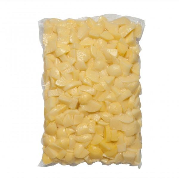 Zemiak čistený štvrťky CHLADENÝ 5kg/bal 1