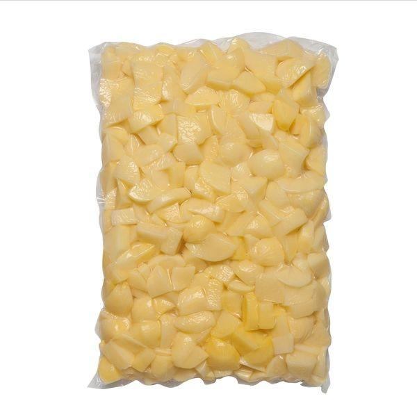 Zemiak čistený štvrťky VARENÝ 5kg/bal 1