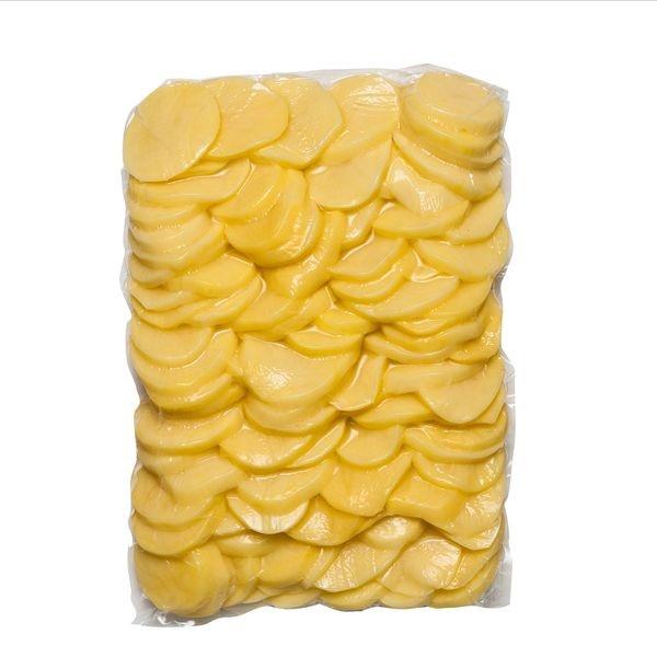Zemiak čistený plátky VARENÝ 5kg/bal 1