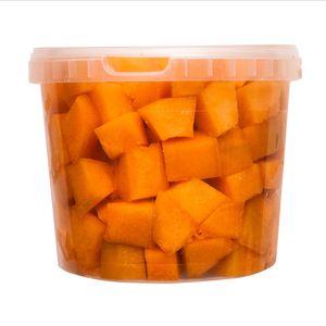 Bal.Melón Cantaloupe čistený kocky 2x2 2,5kg/ved 1