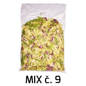Bal.Šalát Mix č. 9 1kg/bal 1