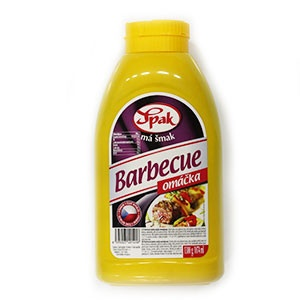 Omáčka barbeque SPAK 1000g 4