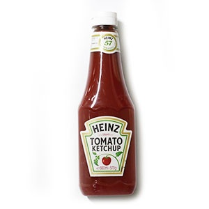 Kečup jemný HEINZ 570g plast 5
