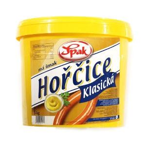 Horčica plnotučná SPAK 5kg 4