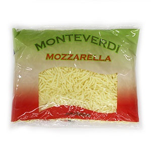 Mozzarella strúhaná MONTEVERDI 1kg 6